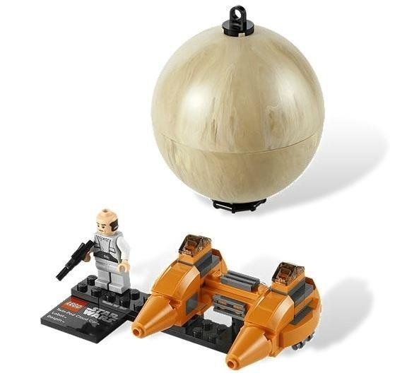 78 Pcs Lego Star Wars Twin-pod Cloud Car & Bespin (9678) Series 2 Ages Gift 6-12