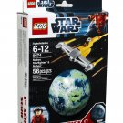 56 Pcs Lego Star Wars Naboo Starfighter & Naboo (9674) Series 1 Gift Ages 6-12