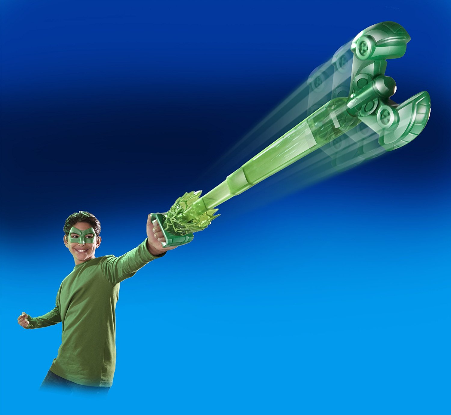 Green Lantern Movie Cosmic Claw Roleplay Toy (Mattel Toys) 2 to 4 Years