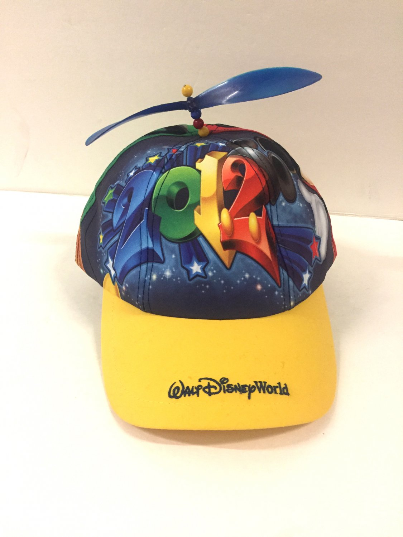 2012 Walt Disney World Youth Helicoter Top Hat Cap