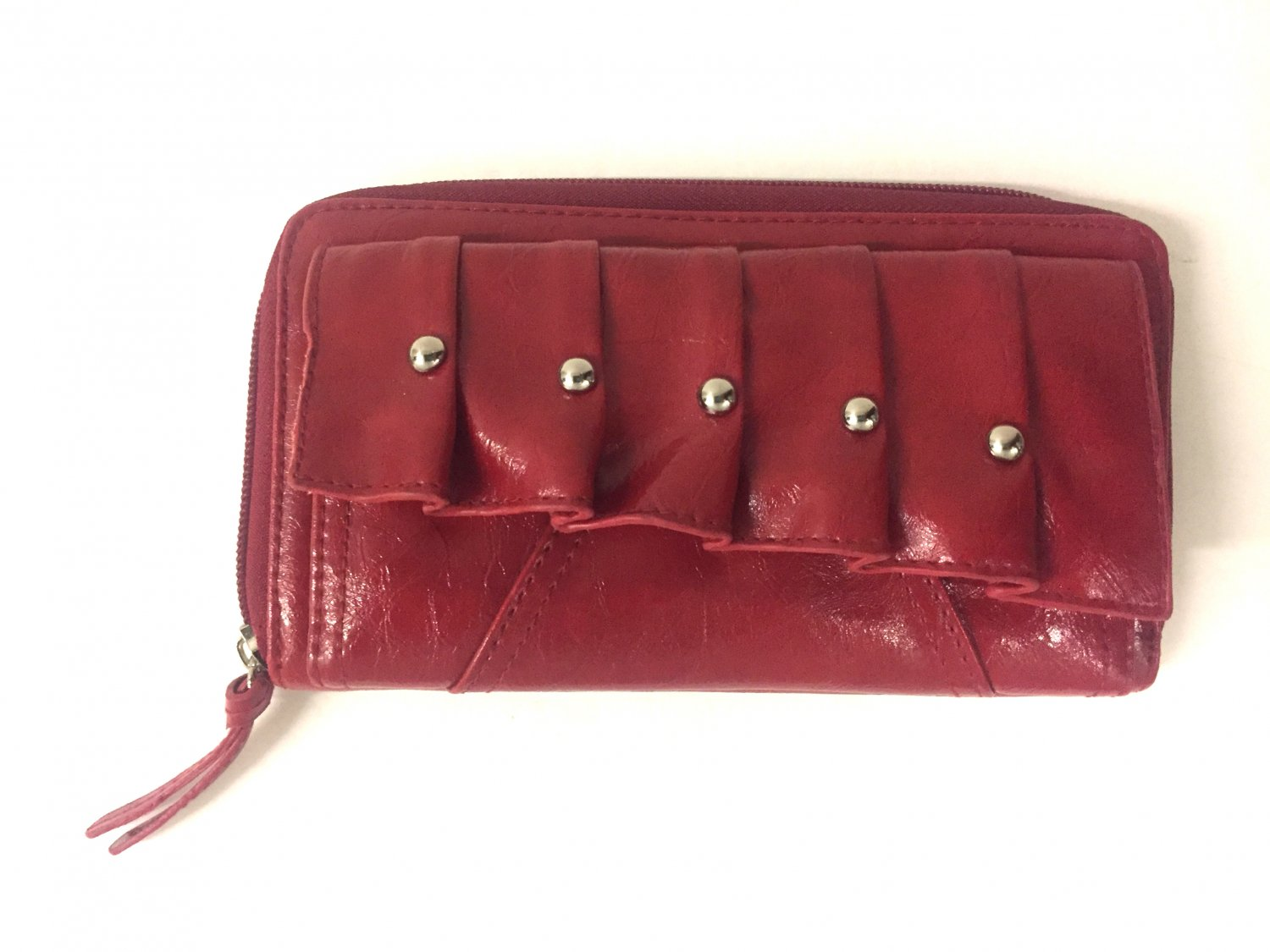 Kenneth Cole Reaction Wallet Women's Red