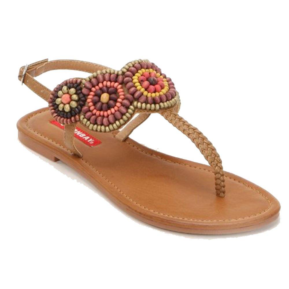 Unionbay Kenya Thong Sandals Women Size 5 M