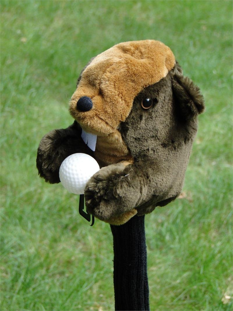 Golf Digest Play Headcover Gopher Fits Oversized Driver Up to 460CC