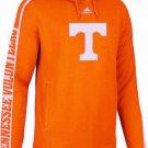 NCAA adidas Tennessee Volunteers Sideline Swagger Performance Hoodie Orange Large