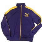 Puma Heroes T7 Track Jacket Prism Violet Spectra Yellow Men's XL