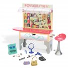 Liv The Possibilities Boutique Mall Kiosk House for Dolls