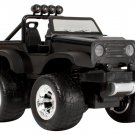 Blue Hat Toy Company Radio Control 4 x 4 Safari Jeep Black Gift Boys 5+