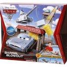 Disney Pixar Cars 2 Barrel Blowout Track Set Finn McMissile & Crane Car Vehicle