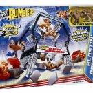 WWE Rumblers Blastin Breakdown John Cena Alberto del Rio Playset Gift Boys 3+