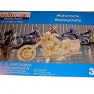 "Creatology Wooden Puzzle Motorcycle Bike 11.7"" x 4.2"" x 6.2"" Ages 3+"
