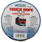 Highland 9165000 50' Orange and Black Truck Rope