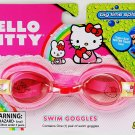 Hello Kitty Swim Goggles with Super Soft water tight Seal Ages 4+