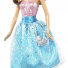 Barbie Modern Blue Princess Party Doll Brunette