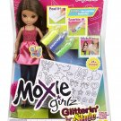 Moxie Girlz Glitterin' Style Doll Sophina Brunette Doll Collectors Girls Gift 3+