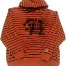 Walt Disney World Stripe Tigger Halloween Orange Jacket Hoodie Men's College XXLarge