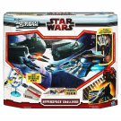 Speed Star Wars Hyperspace Challenge with PLO Koon's Jedi Starfighter Ages 5+