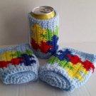 Autism Koozie Crochet Pattern