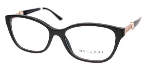 New Original Eyeglasses Bvlgari BV 4109 501 Women Black Square