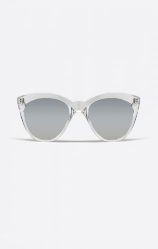 f70b20c0ad Sunglasses Quay ISABELL CLEAR 4.1 Women Clear Square Silver Mirrored
