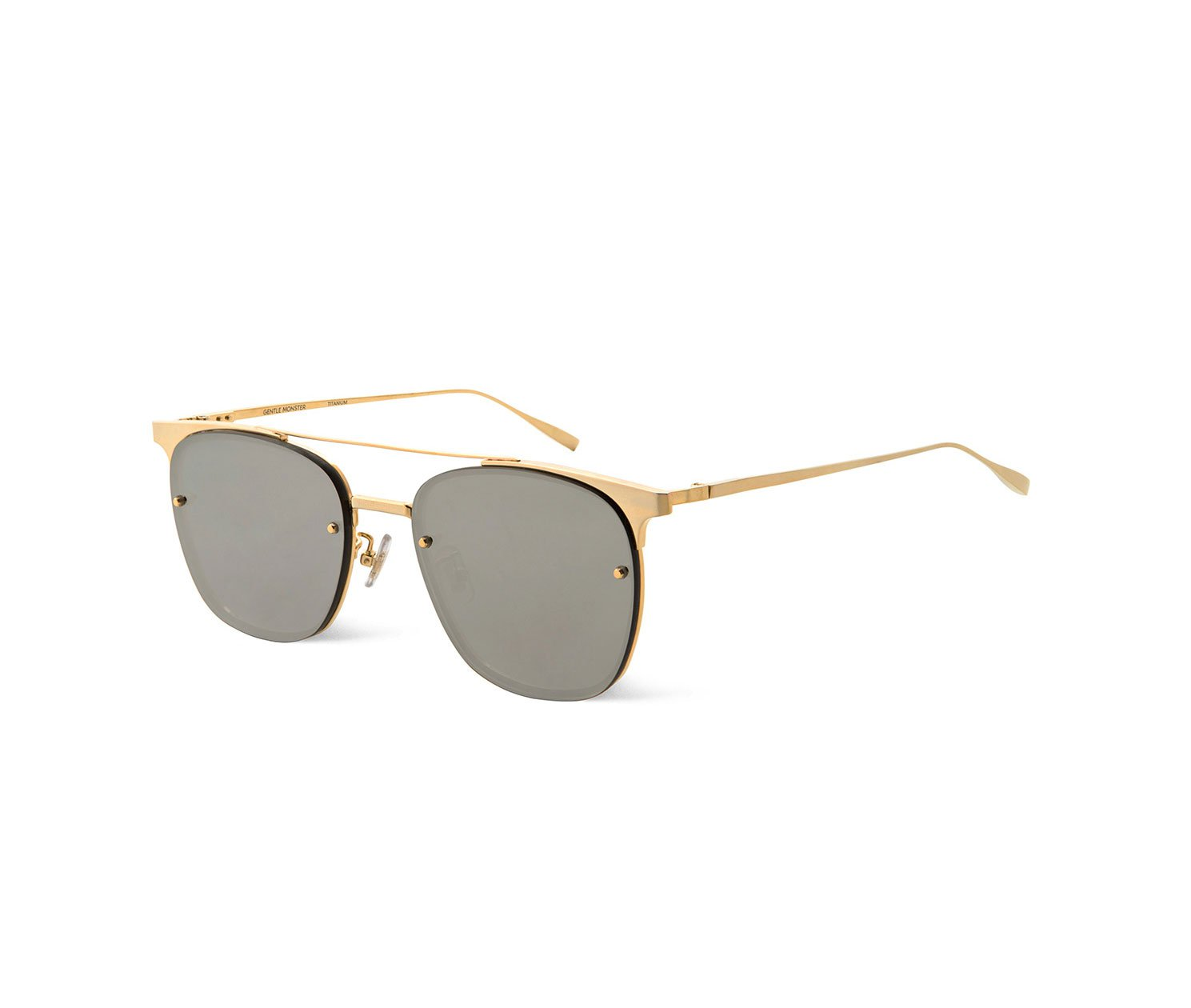 Sunglasses Gentle Monster Fame 03m Unisex Gold Square