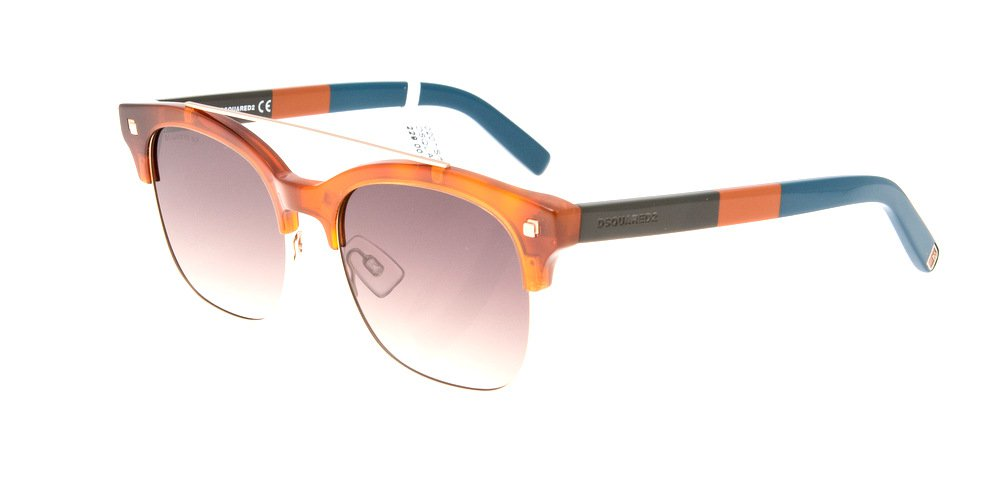 Sunglasses Dsquared Geremy DQ 0207/S 53K Unisex Tortoise Square Gradient