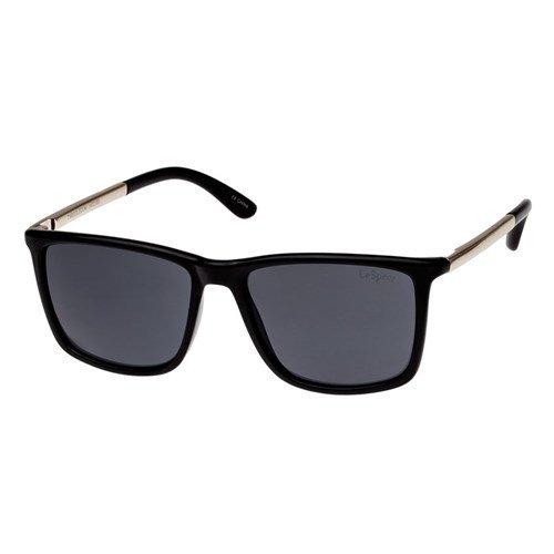 Sunglasses Le Specs Tweedledum Black W/Smoke Mono Lens Unisex Black Square