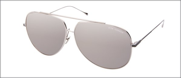 Sunglasses Dita CONDOR 21005-H shiny silver mirrored