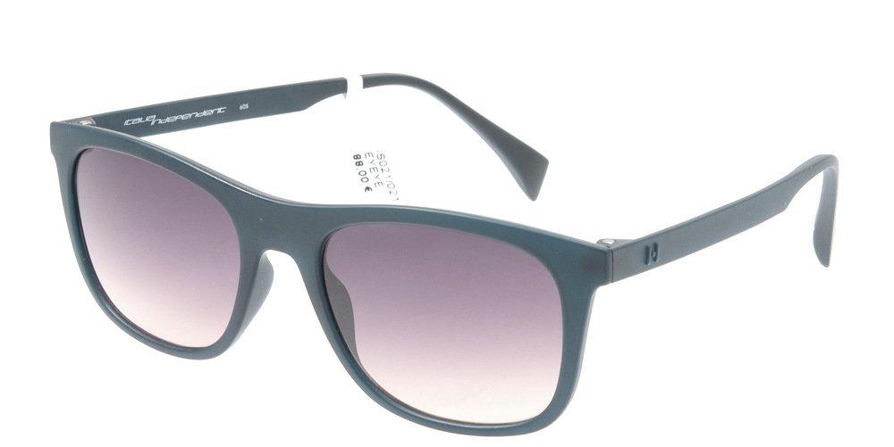 Sunglasses Eyeye IS021 021.000 Unisex Blue Square Gradient
