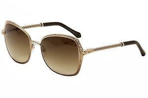 Sunglasses Roberto Cavalli Tabit  977S 33G Women Gold Square Gradient