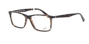 Eyeglasses Web WE 5201 052 Unisex Tortoise Square