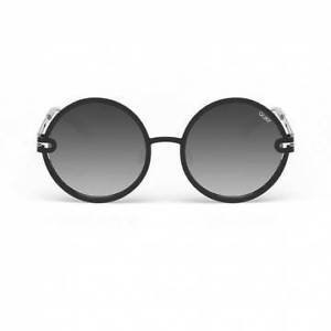 Sunglasses Quay Australia UKIYO BLACK/SMOKE Women Black Round