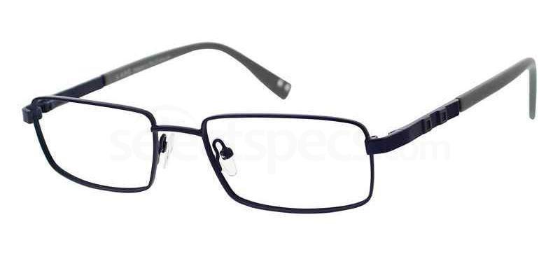Eyeglasses Lapo LAMM131 07 Unisex Black Square