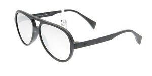 Sunglasses Eyeye ISB001 009.000 Kid Black Aviator Silver Mirrored