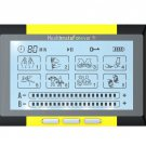 TS8ABH HealthmateForever TENS Unit Electrical Muscle Stimulator Yellow + 2 Pairs of Pads