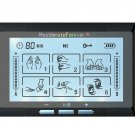 TS6ABH HealthmateForever TENS Unit Electrical Muscle Stimulator Black + 4in1 Leads Wire and 1 Pair o