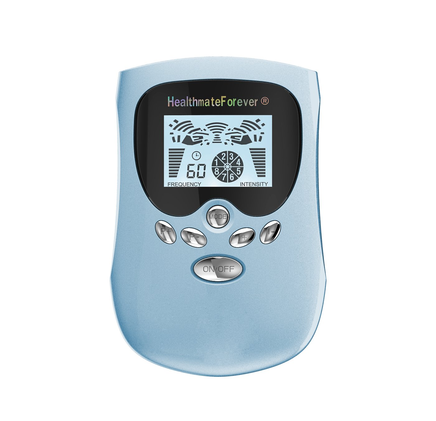PM8 HealthmateForever TENS Unit Electrical Muscle Stimulator Blue