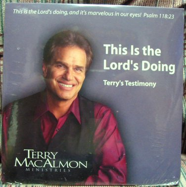 This is the Lords Doing - Terry's Testimony cd - Terry MacAlmon