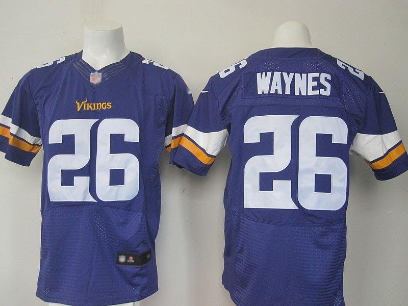 Men's Nike Minnesota Vikings #26 Trae Waynes jersey