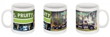 "Movin' On  "" S.Pruitt "" Kenworth Coffee Mug - beautiful!"