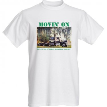Movin' On Kenworth V.I.T. T Shirt - Claude Akins - 2XL size