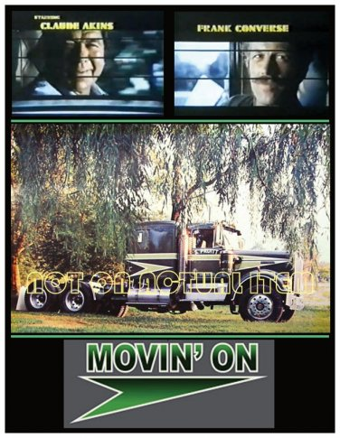 Movin' On Kenworth Truck and Akins - Converse Postcard Magnet - Beautiful item