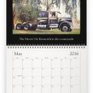 Movin' On TV Series Wall Calendar 2016 - For the Collector