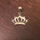 10K YELLOW GOLD POLISHED CROWN CHARM / PENDANT  -  0.7 GM