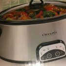 Crock Pot Programmable 4-Quart Digital Slow Cooker, Silver - SCCPVP400-S