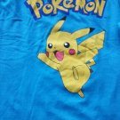 Tee shirt , Pokemon men's XL tshirt , Blue, Polyester and long Sleeve Nintendo
