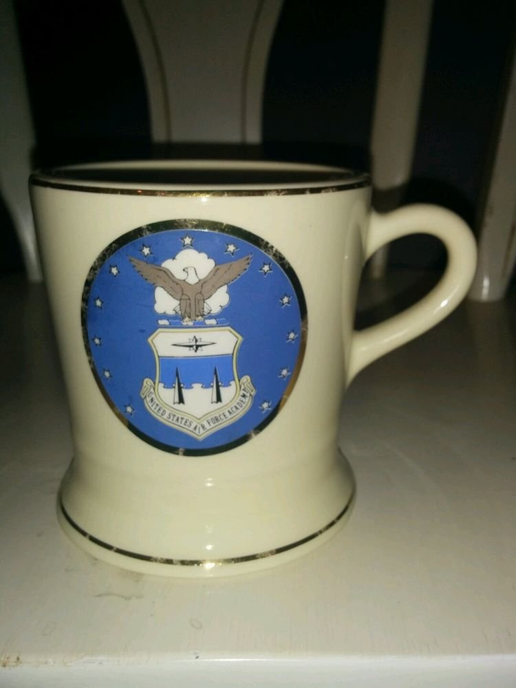 United States Air Force Academy mug with gold
