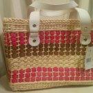 Kate Spade New York  Basket Tote Bag Straw D13.5cm, H22.5, Multi - Hand Bags