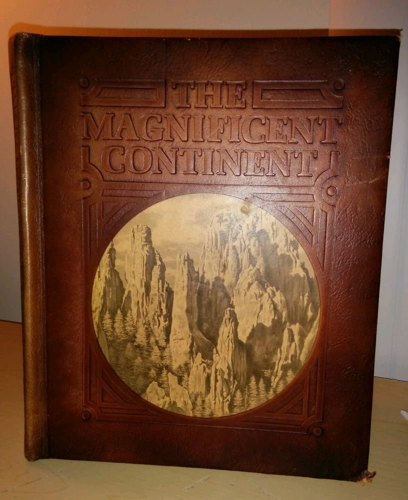 1975 THE MAGNIFICENT CONTINENT BY RAND McNALLY. English, Hardcover