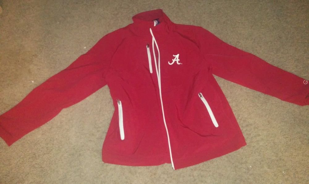 Alabama Crimson Tide Jacket : Football Jackets, Red, Regular Season NCAA