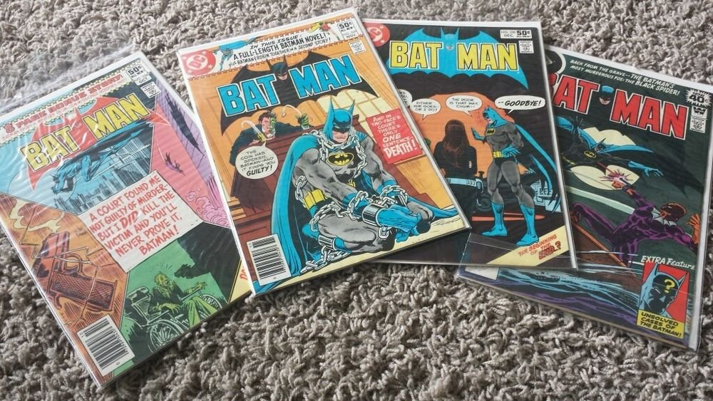 "1964 Series DC and 1 Whitman Batman Comic Books - DC Comic Books ""SAVE NOW"""